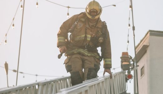 【消防学校は腕立て伏せ祭り!】消防学校の生活4月編その②【裏入校式】