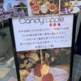 りんご飴専門店「Candy apple」のリンゴ飴を食べた感想!