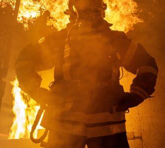 【初めての消防車!】消防学校の生活5月編その③【消防活動訓練!】